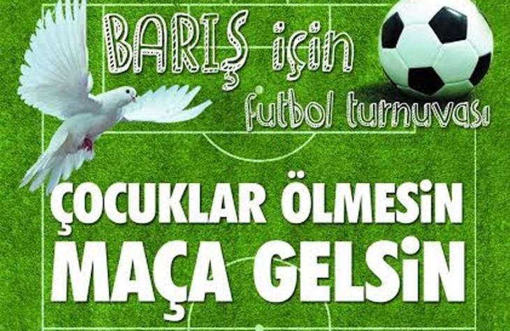 Van'da barış için futbol turnuvası