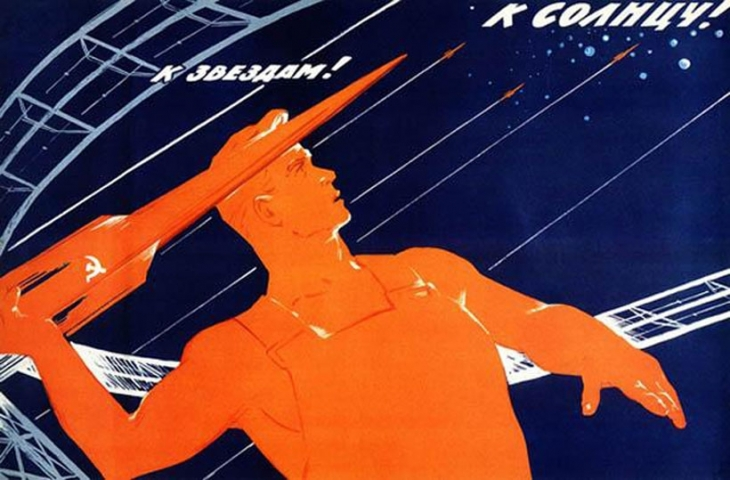 Sovyetler uzay yolunda