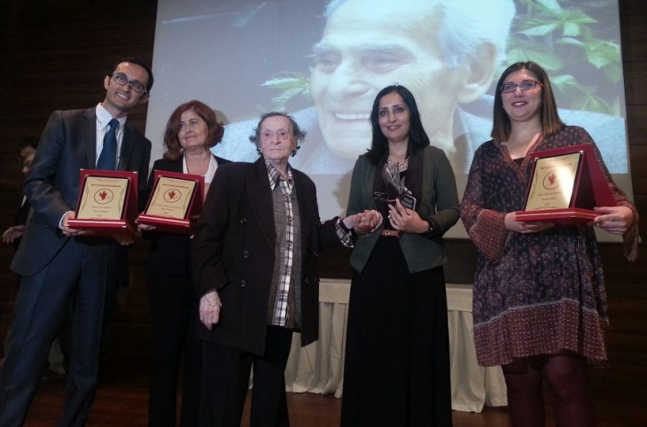 Halit Çelenk Hukuk Ödülleri sahipleriyle buluştu