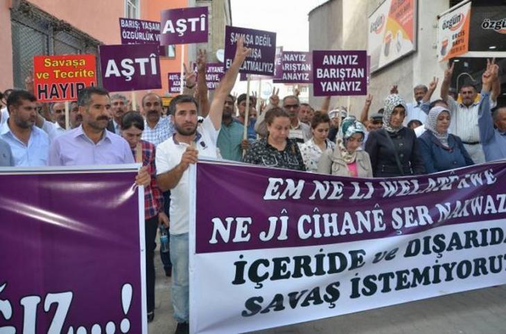 Vanda polis barış yürüyüşüne saldırdı