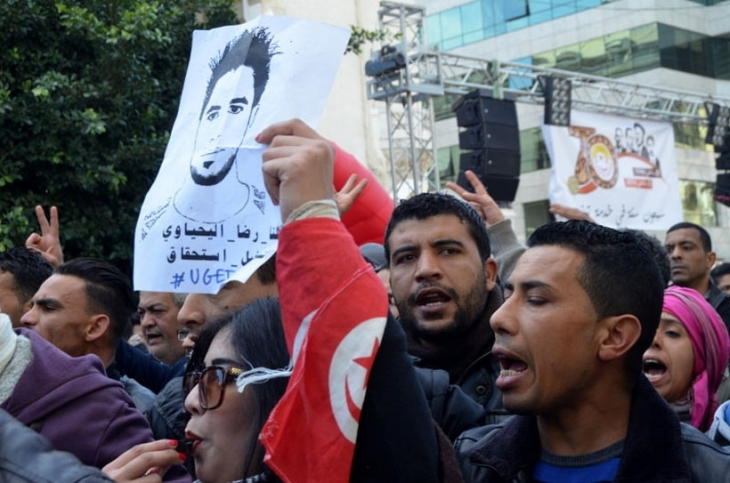 Buazizi'den sonra Yahyaoui de fitili ateşledi: Tunus'ta gençler isyanda!