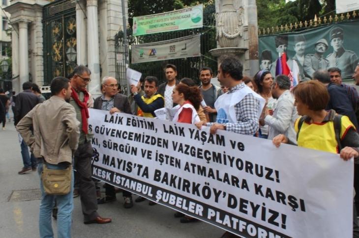 KESK İstanbul Şubeleri 28 Mayıs'ta Bakırköy'e çağırdı