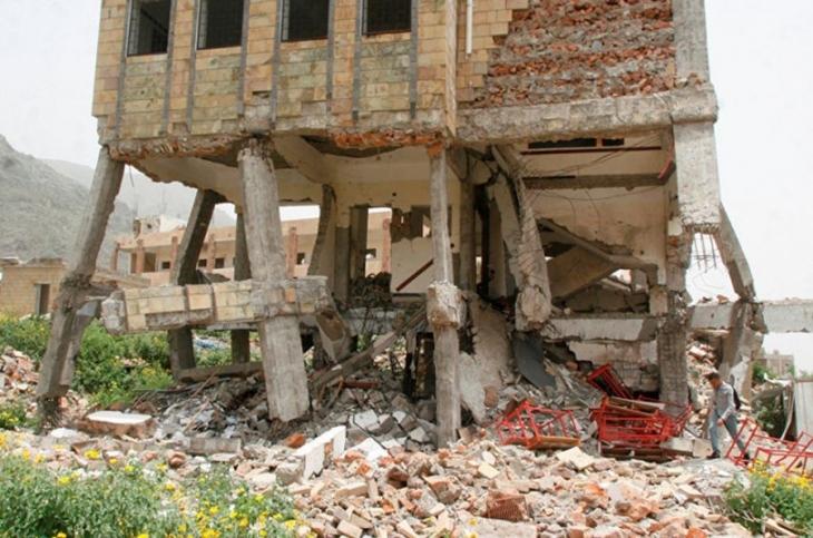Yemen'de ilkokul binası vuruldu, çocuklar öldü