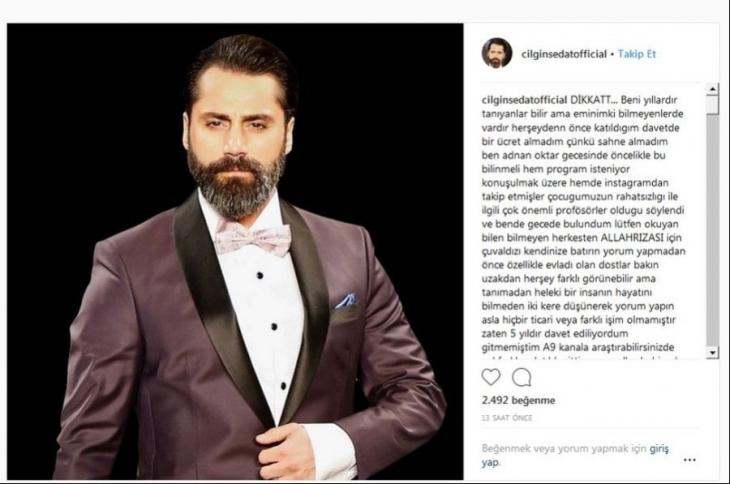 'Çılgın Sedat': Adnan Oktar'ı tanımıyordum, ticari işim olmadı