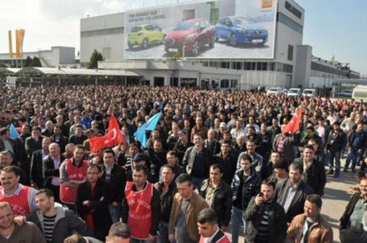 Renault işçisi: Bize masada satmayacak  bir sendika lazım