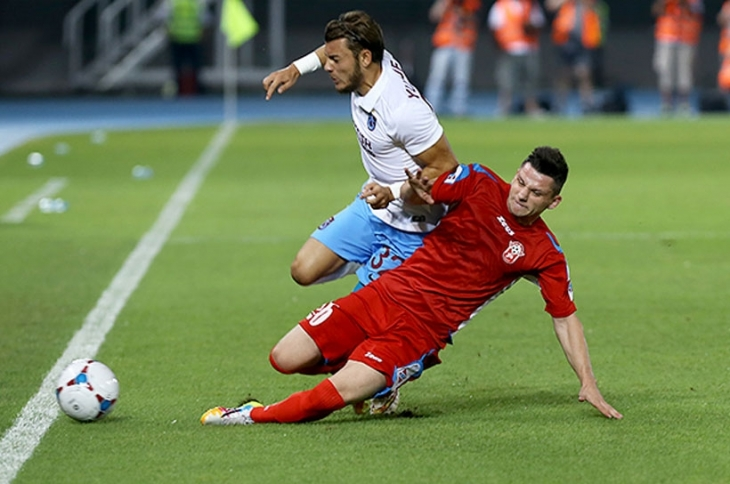 Rabotnicki: 1 - Trabzonspor: 0