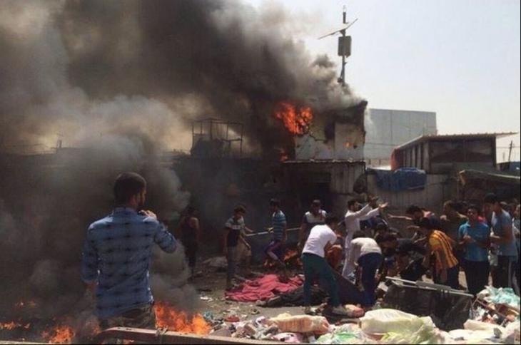 Bağdat'ta IŞİD saldırısı: 64 ölü