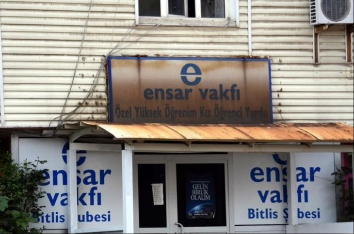 Öğrenci yurdu Ensar Vakfı'na devredildi