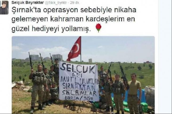 Erdoğan'ın damadından JÖH'e mesaj