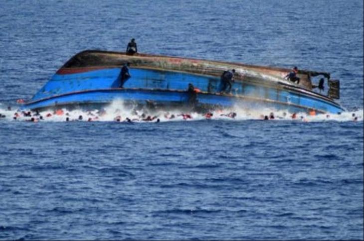 Libya açıklarında 700'e yakın mülteci yaşamını yitirdi