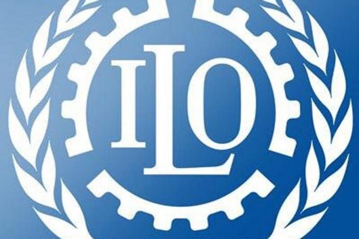 ILO çalışanları ücret kesintisine karşı grevde