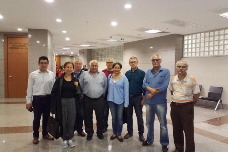 10 Ekim Ankara Katliamı'nı protesto ettikleri için yargılandılar