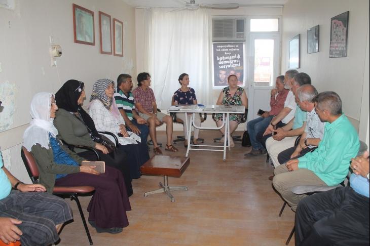 HDP Milletvekilleri EMEP Adana İl örgütünü ziyaret etti