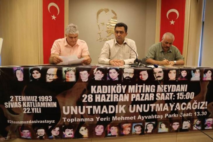 İstanbul'daki Madımak mitingine katılım çağrısı