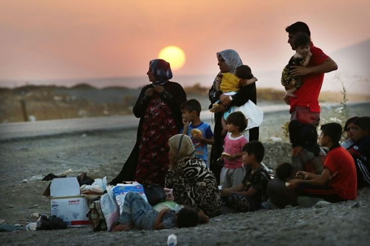 Êzidî kadınları 'IŞiD'in elinden kurtaran ağ'