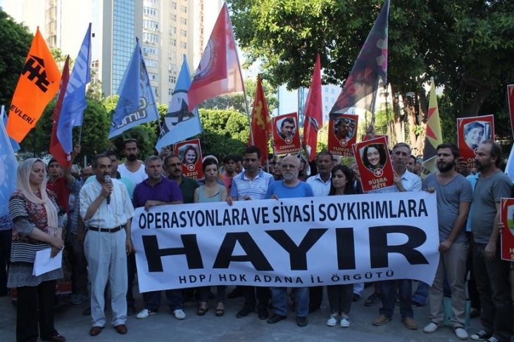'Demokrasi ve müzakere mücadelesini yükseltelim'
