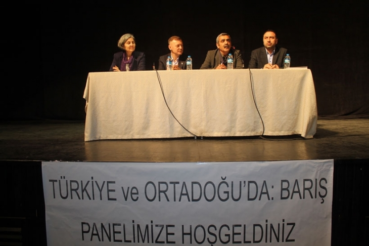 Adana barış panelinde güç birliği vurgusu