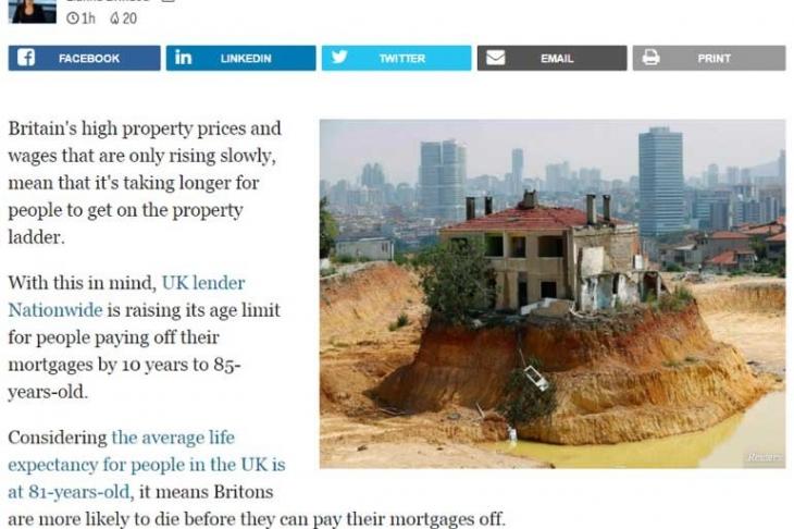 'Fikirtepe inatçısı' İngiltere gündeminde