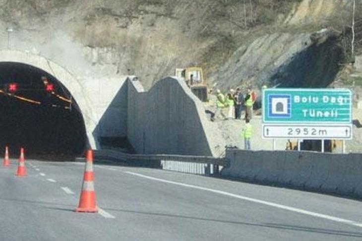 Bolu Dağı Tüneli'nin İstanbul yönü 1 ay ulaşıma kapatılacak