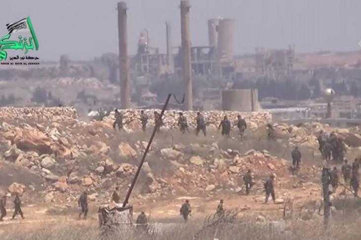 Suriye ordusunun Handarat operasyonu başarısız oldu