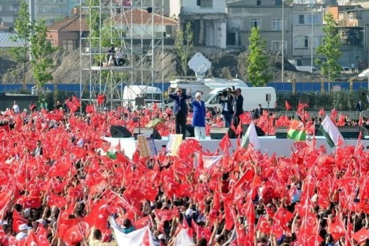 Erdoğan: Terörü kullananların derdi fethin intikamını almak
