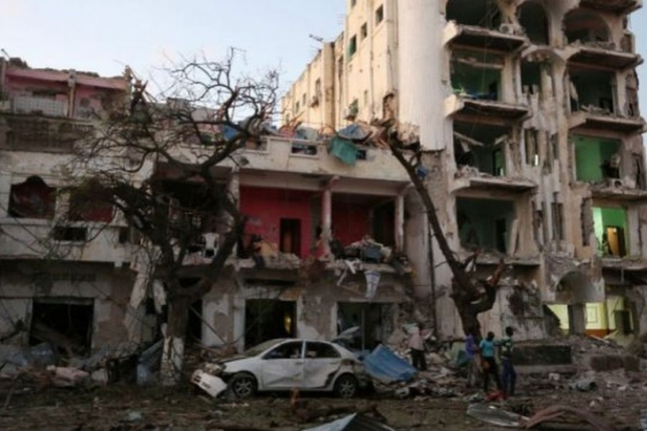 Somali'nin başkentinde otele saldırı: En az 10 ölü