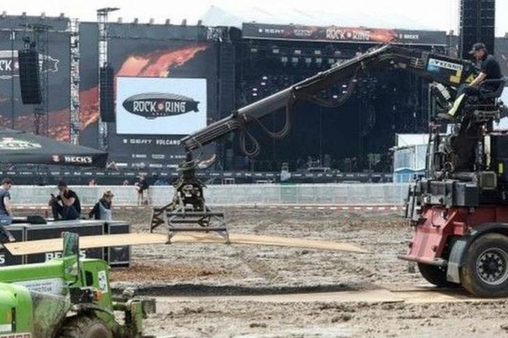 Rock am Ring festivaline yıldırım düştü: 72 yaralı