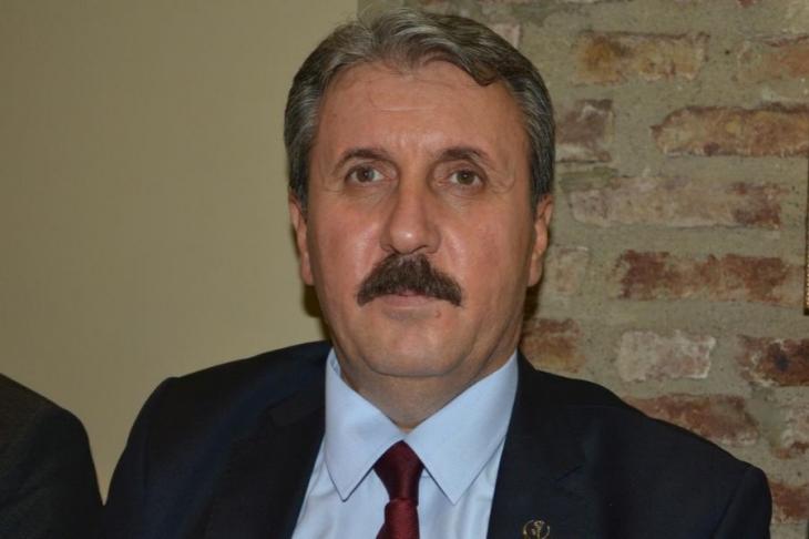 BBP genel başkanı da Onur Yürüyüşü'nü hedef gösterdi