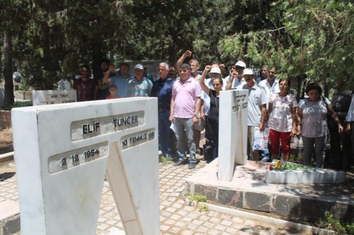 'Beşler' mezarları başında anıldı