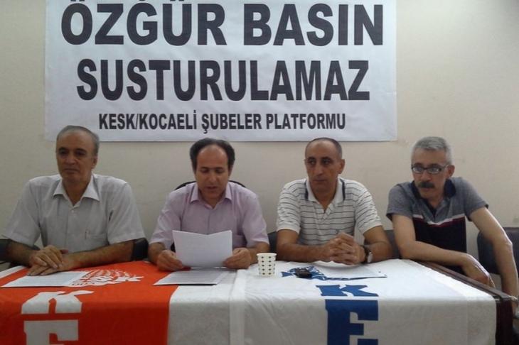 KESK Kocaeli Şubeler Platformu: Özgür basın susturulamaz