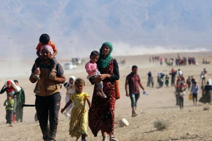 Êzidî kadınlar 2.5 yıl sonra kurtarıldı