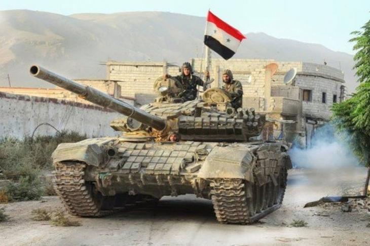 Suriye'nin orta kesimindeki son IŞİD direnişi de kırılıyor