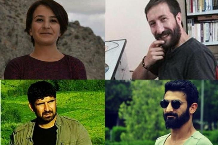 Diyarbakır'da gözaltındaki gazetecilerin ifadesine başlandı