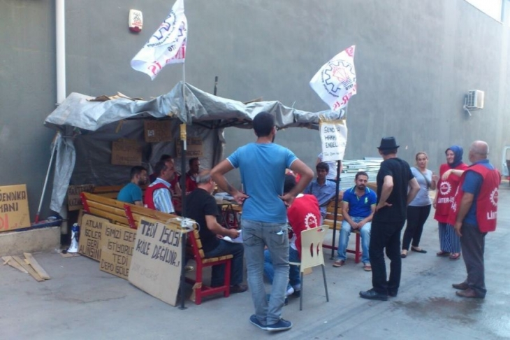 Tedi işçilerinin direnişine OHAL engeli