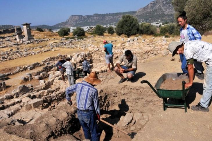 Xanthos Antik Kenti'nde 66. yıl kazıları