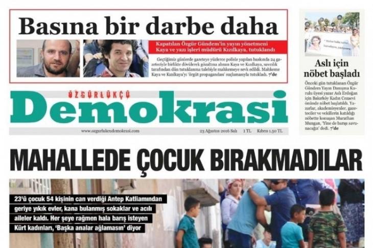 Gazeteciler Ersin Çaksu ve Harun Epli'ye 5 yıl hapis cezası