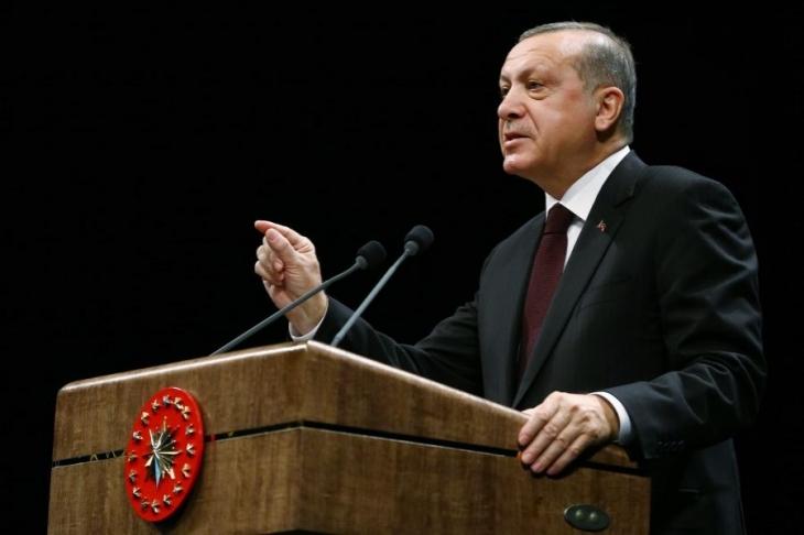 Erdoğan'dan muhtarlara: 'Evet' için yoğun çalışacak mıyız?