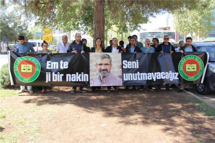 Diyarbakır Barosu'ndan, Cumhurbaşkanı'na, Tahir Elçi çağrısı