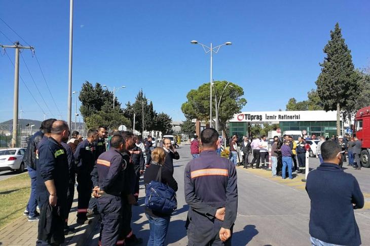 TÜPRAŞ işçileri: Facialar için mücadele etmeliyiz