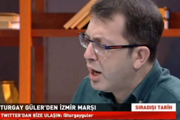 Güneş'in Genel Yayın Yönetmeni Turgay Güler'den İzmir Marşı