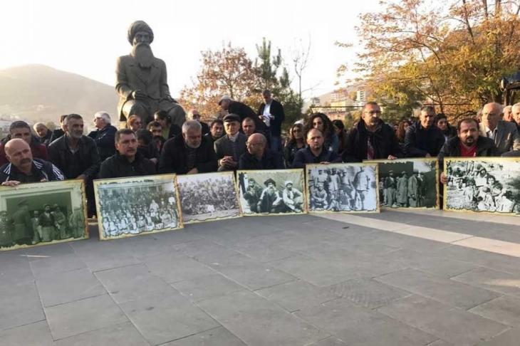 Seyit Rıza ve arkadaşları Dersim'de anıldı