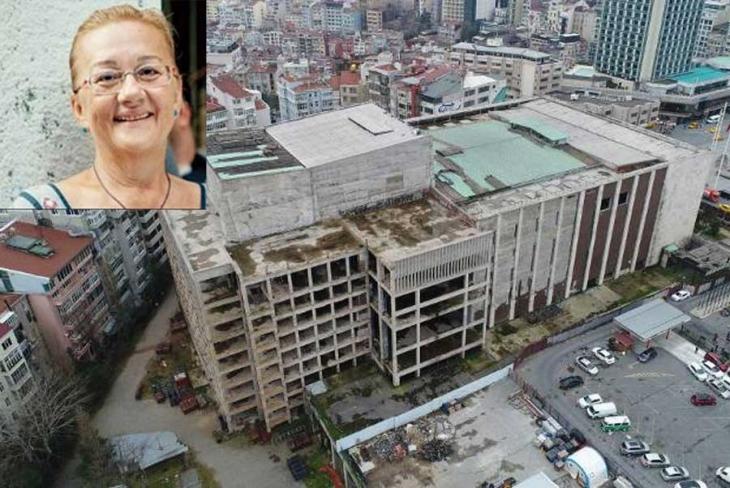 Mücella Yapıcı: AKM'de yıkım bir an önce durdurulsun