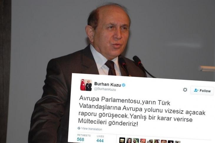 Burhan Kuzu, AKP'nin mülteci politikasını özetledi