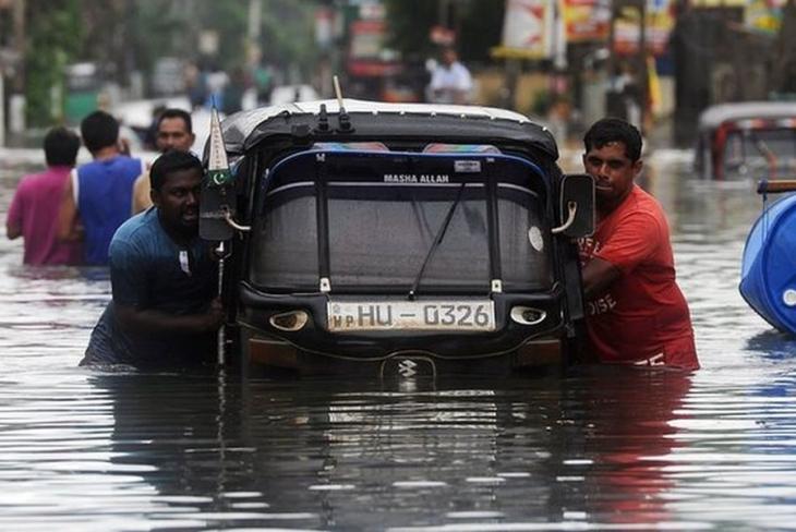 Sri Lanka'da sel ve heyelan 73 can aldı