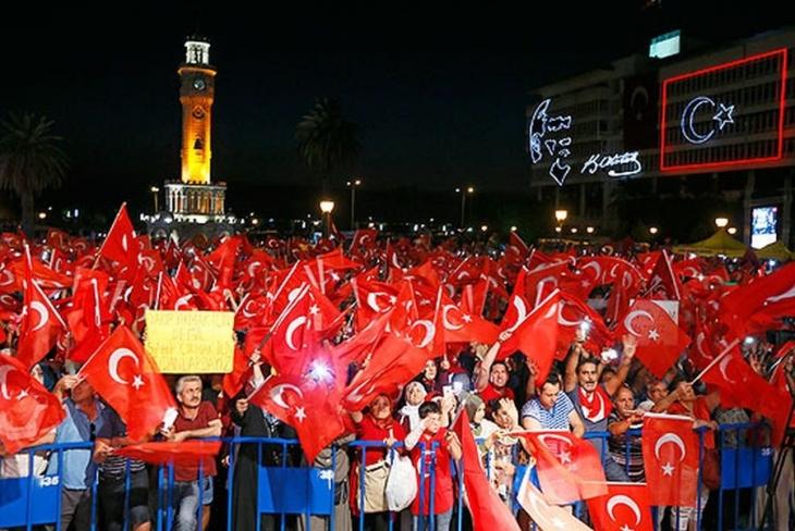 Zorunlu 'demokrasi' nöbeti talimatı!