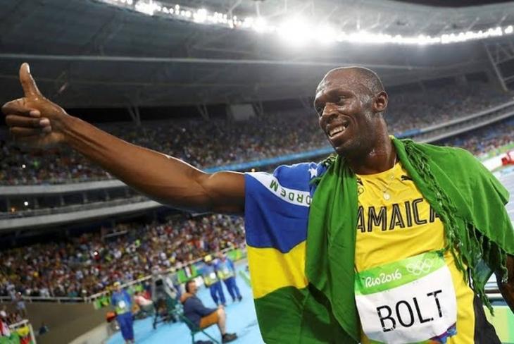 Usain Bolt tekrar pistte