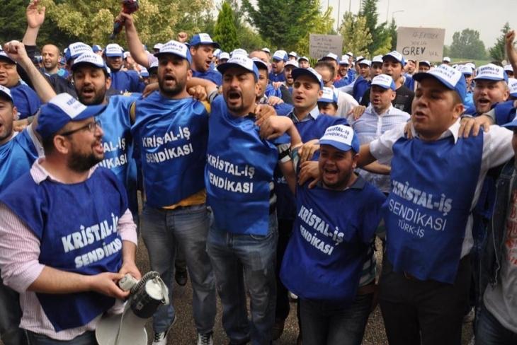Şişecam işçileri kararlı: Bir adım bile geri atılmamalı