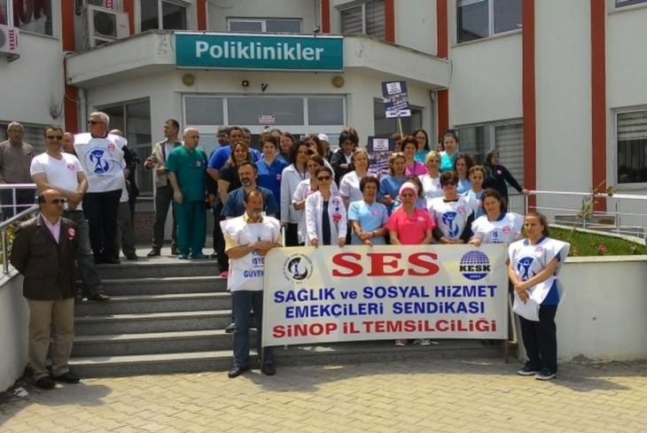 Sağlık emekçilerinden Hemşireler Günü'nde örgütlenme çağrısı
