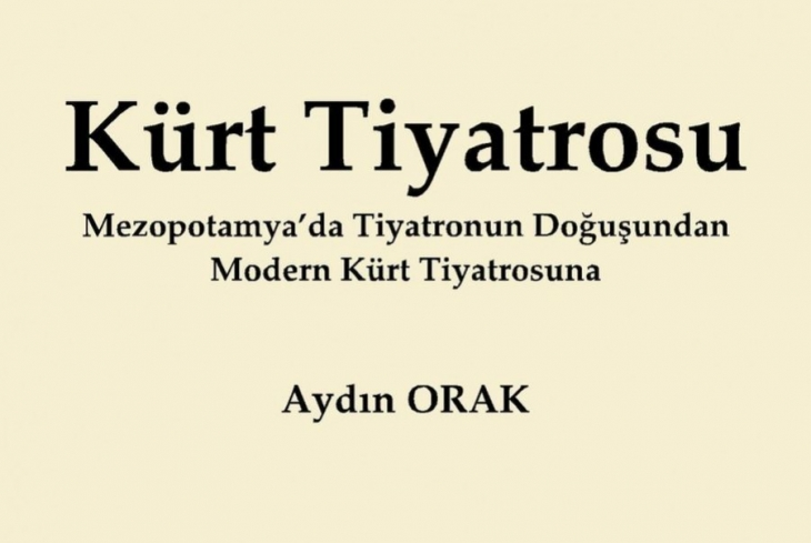 Kürt Tiyatrosu'nun kitabı çıktı
