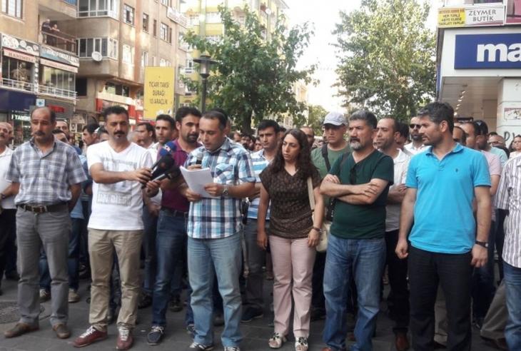 Diyarbakır'da 'Lice'ye ses ver' eylemi